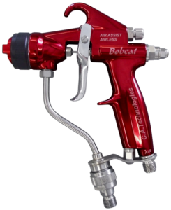ca technologies bobcat handheld air assisted airless spray gun