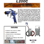 Lynx 200C SL (Concrete Spray)
