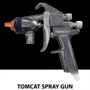 ca technologies tomcat 100c conventional adhesive handheld spray gun