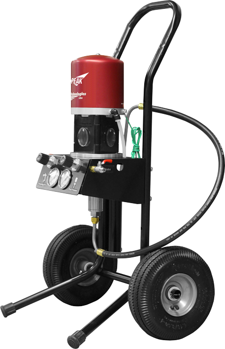 Performance Technology: Air Assist Airless 14:1 Peak Performance Fine Finish Pump